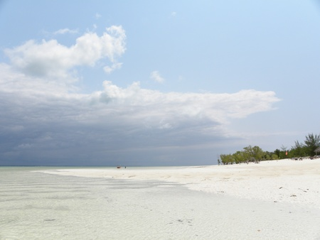Zanzibar Island of Tanzania with its white sandy beaches photo