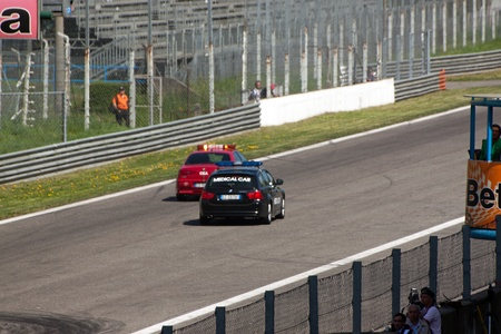 Safety Car in the Rally of Monza, Monza, Italy