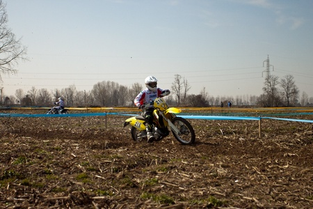 motoclub melegnano: Cerro al Lambro, Lombardy Italy March 11, 2012 Lombardy Regional Championship Enduro organized by Motoclub Melegnano