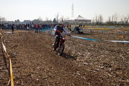 regionale championship: Cerro al Lambro, Lombardy Italy March 11, 2012 Lombardy Regional Championship Enduro organized by Motoclub Melegnano