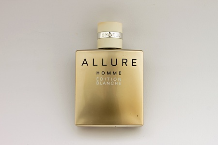 chanel: Bottle of Chanel Allure Homme Sport - Edition Blanche Editorial