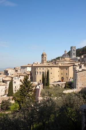 Vista panoramica della citt� vecchia di Assisi, Umbria - Italia