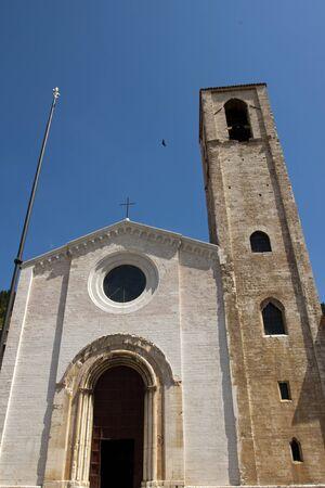 Church in the historic center of Gubbio, Umbria - Italy Stock Photo - 13535799