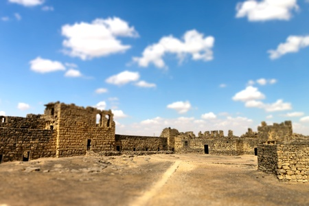 lawrence: Al Azraq Castle ruins, desert castle of Jordan