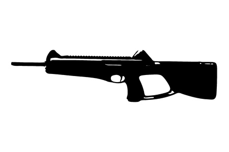 BERETTA CX4 STORM CARBINE Stock Vector - 14018850