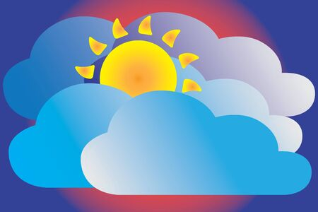 partly: Cloudy weather icon