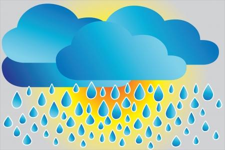 Icona tempo piovoso