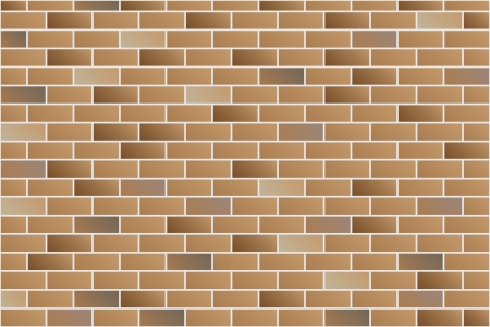 stone floor: brick wall vector Illustration