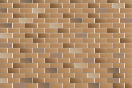mattoncini: muro di mattoni vettoriale