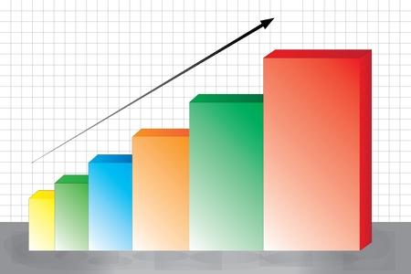 stock chart Stock Vector - 14309178