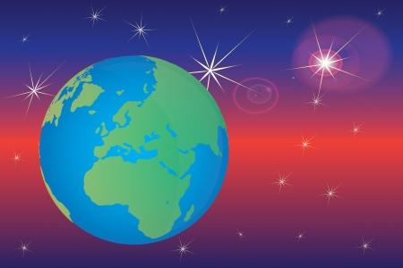 planet Earth Stock Vector - 14433806