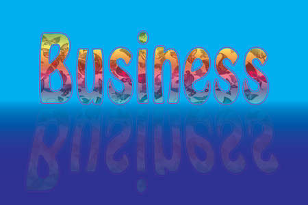 business text Vector