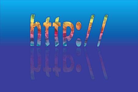 http: HTTP-Text Illustration