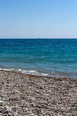 Rhodes Beach, Greece photo