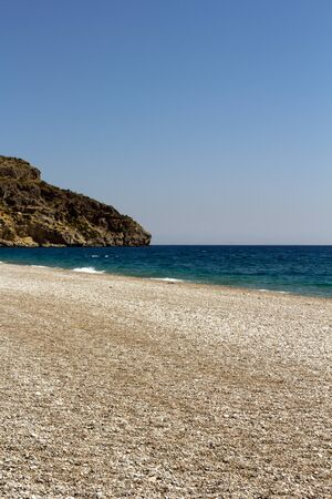 Rhodes Beach, Greece photo