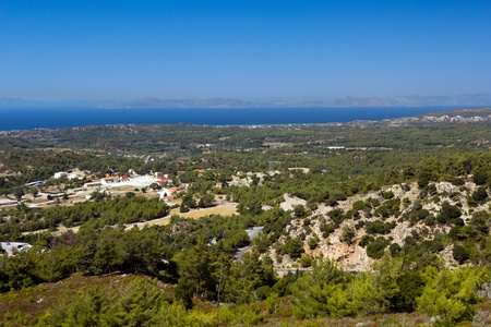 The island of Rhodes, Greece photo