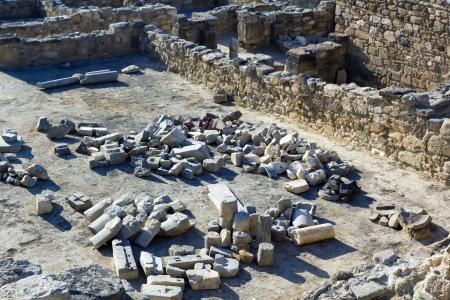 Antiche rovine di Kamiros, Rodi - Grecia
