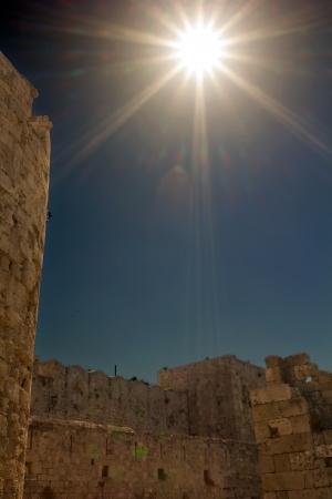 rhodes: Ruins of Rhodes city, Rhodes Island - Greece