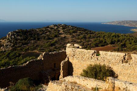 Kastellos - Kritinia castle, Rhodes, Greece photo