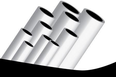 tubes Stock Vector - 15326000
