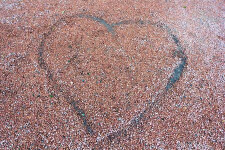 cuore di ghiaia