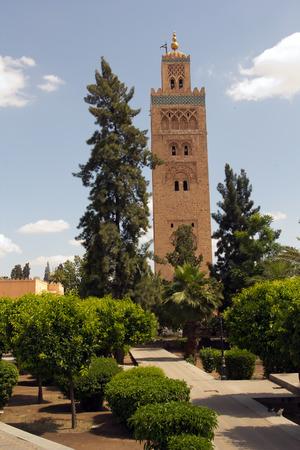 medina: Medina of Marrakech Stock Photo