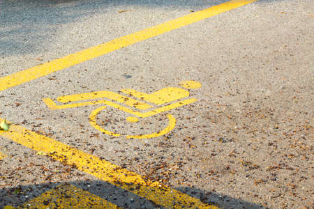 disabled person: Particular of reserved parking for disabled person