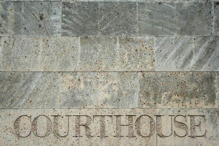 govern: Courthouse Engraving
