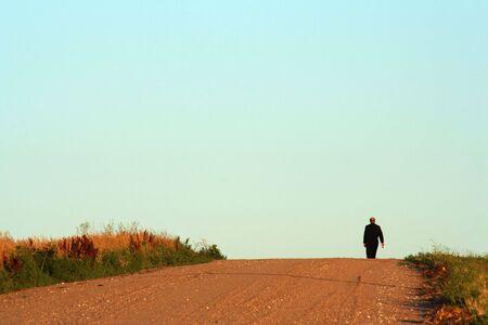 monk, morning walk 版權商用圖片
