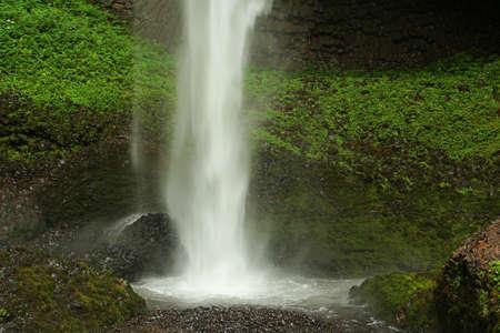 waterfall, Columbia Gorge, Oregon