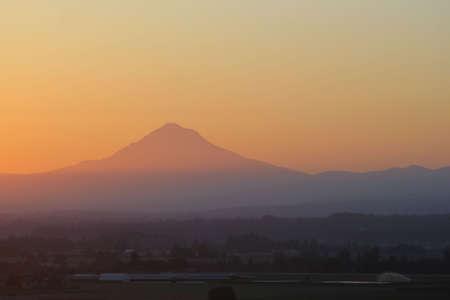 Mt. Hood sunrise, Oregon