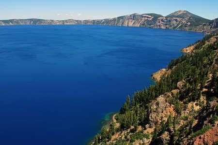 crater lake: Blue Crater Lake