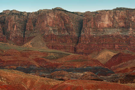 Vermilion Cliffs, norte de Arizona  Foto de archivo - 517685