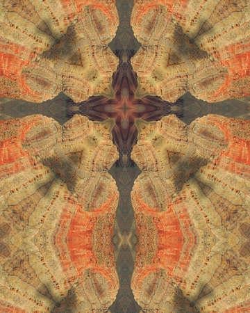 Kaleidoscope Cross:  Grand Canyon Reklamní fotografie