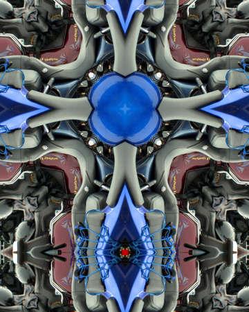 kaleidoscope cross:  motorcycles