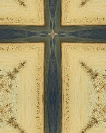 kaleidoscope cross:  Death Valley, California Reklamní fotografie
