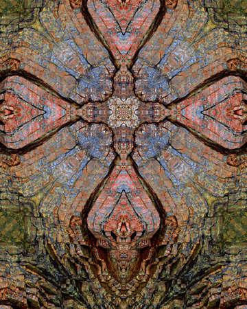 kaleidoscope cross:  rock layers