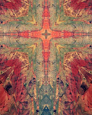 kaleidoscope cross:  Grand Canyon2 Reklamní fotografie