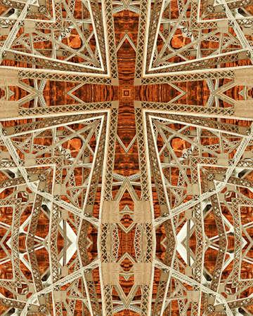 kaleidoscope cross: Navajo Bridge3, Arizona
