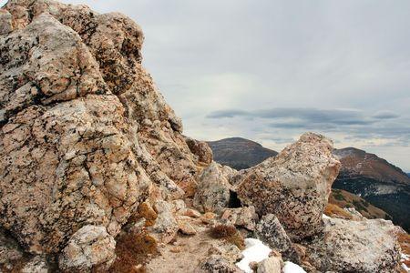 rocks, Rocky Mountain National Park, Colorado Stok Fotoğraf