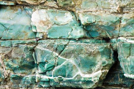 blue chert layers, Rainbow Rock, Brookings, Oregon