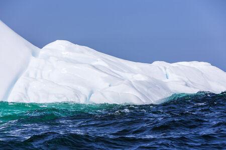 iceberg closeup, near St  Anthony, Newfoundland, Canada