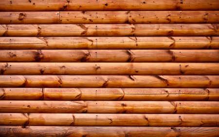 Holz-Hintergrund - Teil Blockhaus
