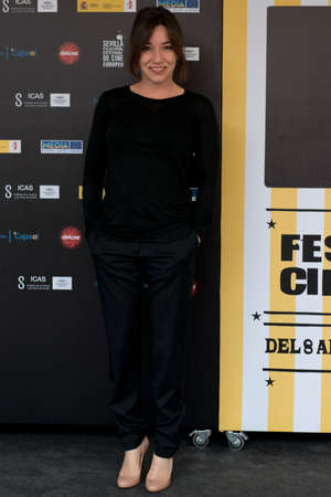 feature films: SEVILLE, SPAIN, November 10: Lola Duenas attend the photo call prior to the press conference of the film anywhere -10.000 nights during X-over Seville European Film Festival (SEFF) in Seville, Spain.