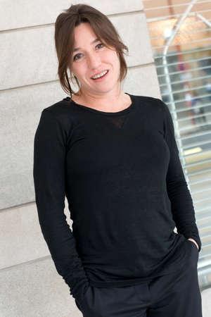 spainish: SEVILLE, SPAIN, November 10  Portrait of spanish actress Lola Duenas in Seville, Spain