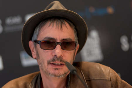 SEVILLE, SPAIN, November 11: Film director Leos Carax atends the press conference in Seville, Spain
