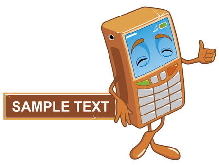 Mobile phone Stock Vector - 2702440