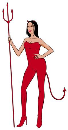sexy devil:  Woman devil