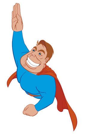 superman: Superhero flying