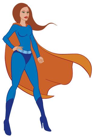superwoman: Superwoman Illustration